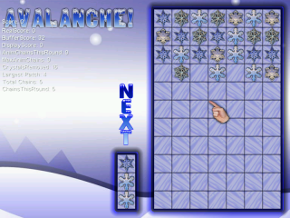 Prototype ScreenShot of Avalanche Game