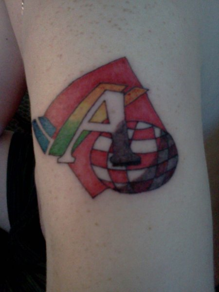 Amiga Tattoo - Closeup Next Day
