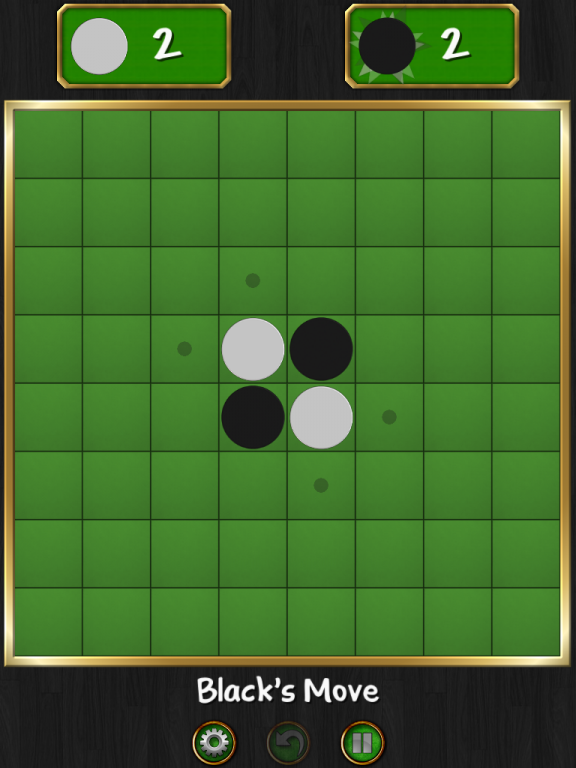 Reversi Magic - Game Start