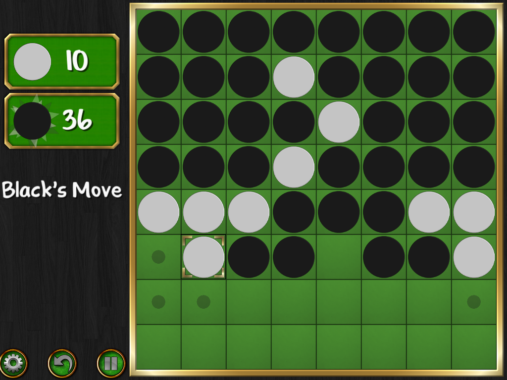 Reversi Magic - Ingame 2