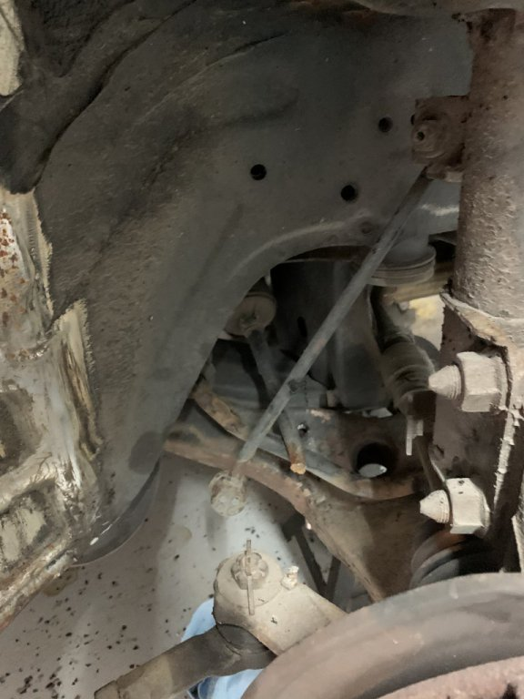 Snapped Tie Rod & Sway Bar Link