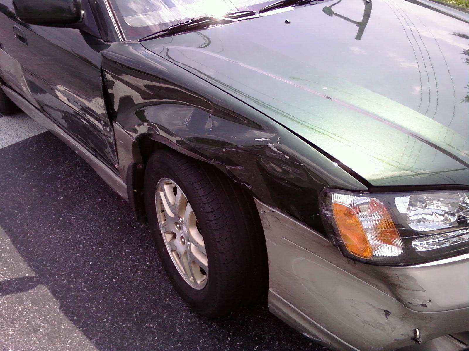 Damage To Other Car